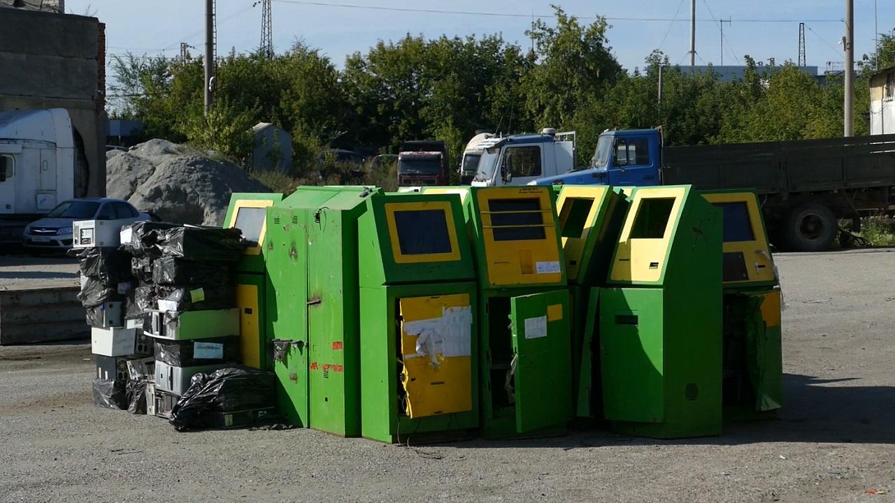 Более тысячи игровых автоматов уничтожили в Челябинске