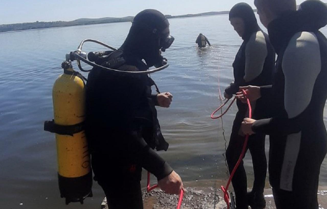Кости человека нашли на дне озера в Челябинской области
