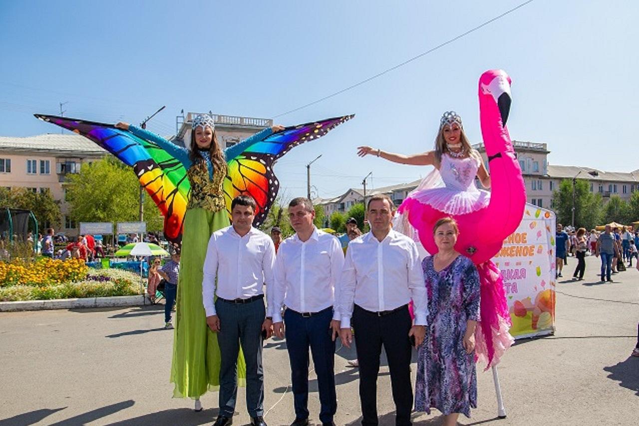 Самый молодой город региона: Южноуральск отпраздновал день рождения