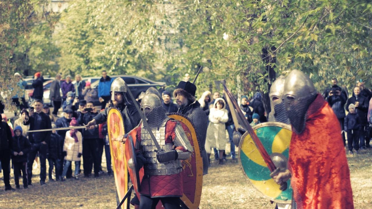 Реконструкция Невской битвы прошла в Челябинске