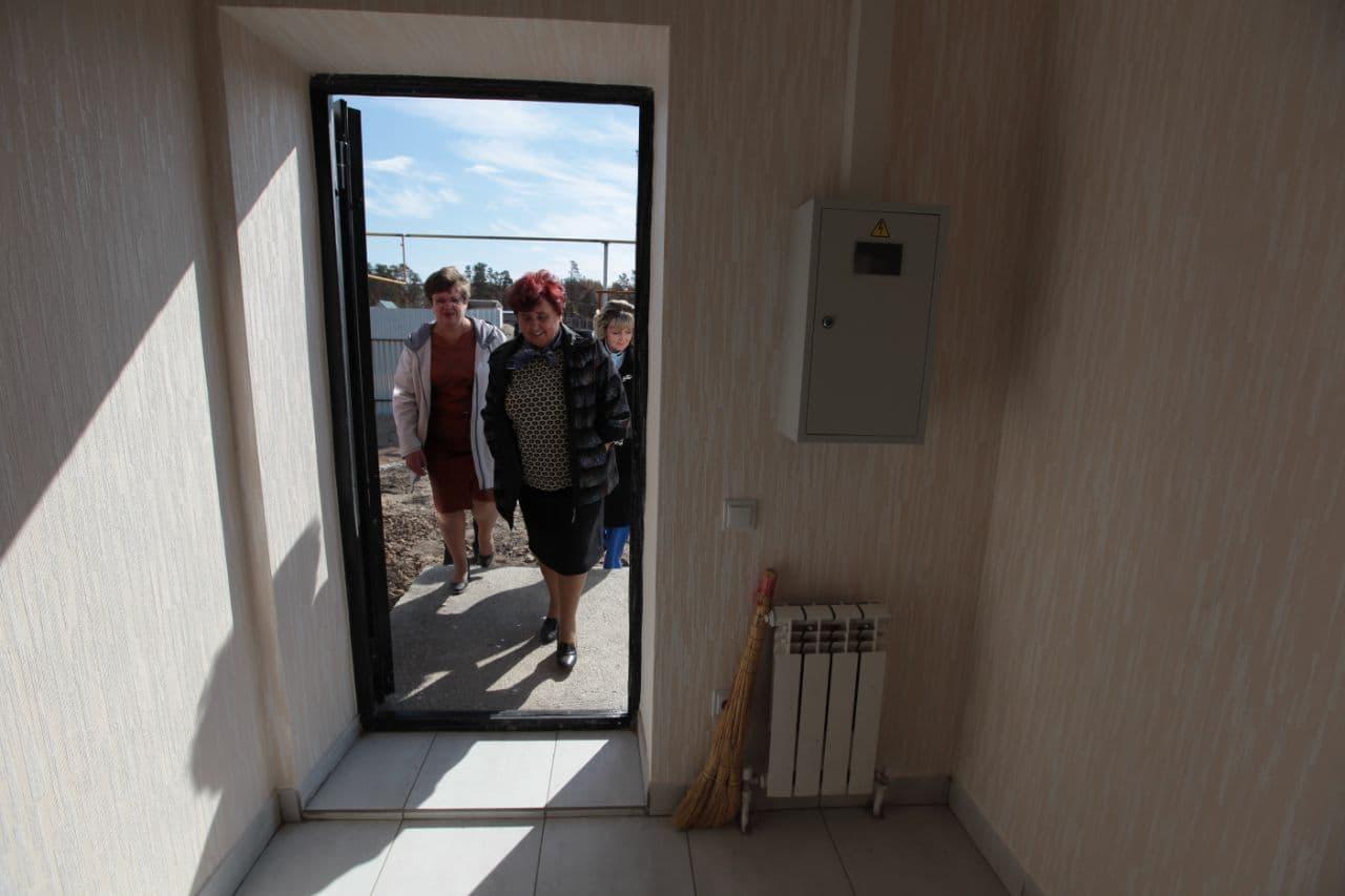 Погорельцам из села Джабык вручили ключи от новых домов