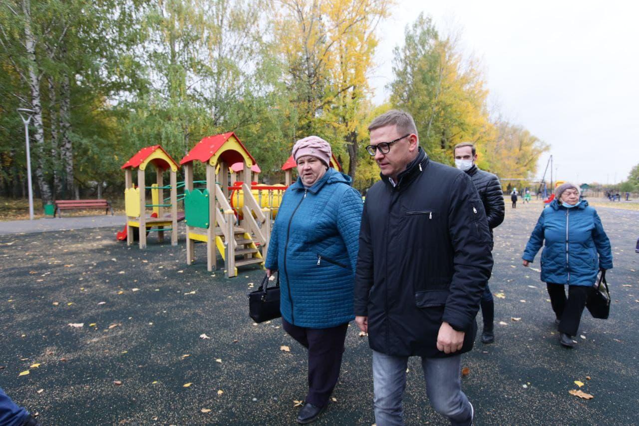 Губернатор Алексей Текслер побывал в Аше
