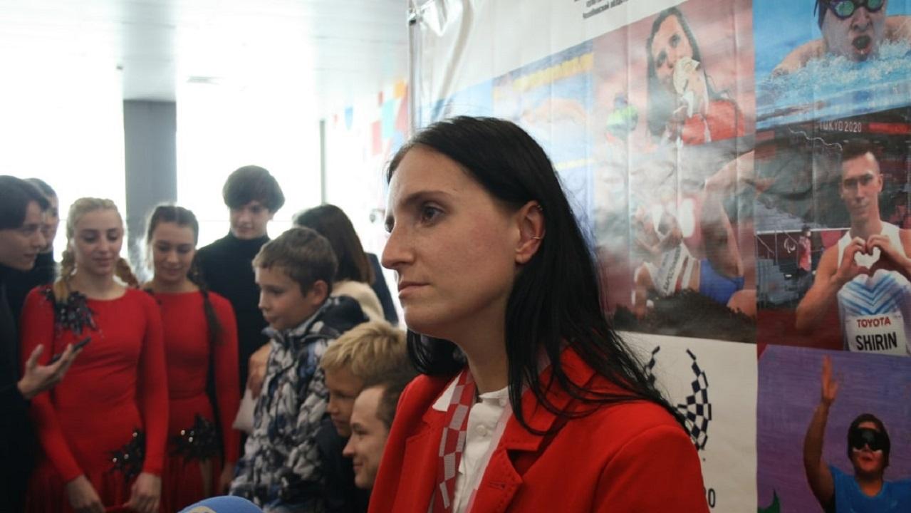 Медалистов Паралимпиады торжественно встретили в Челябинске