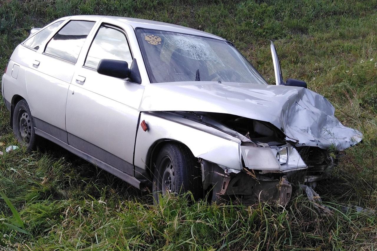 Два автомобиля столкнулись на трассе в Челябинской области, есть пострадавшие