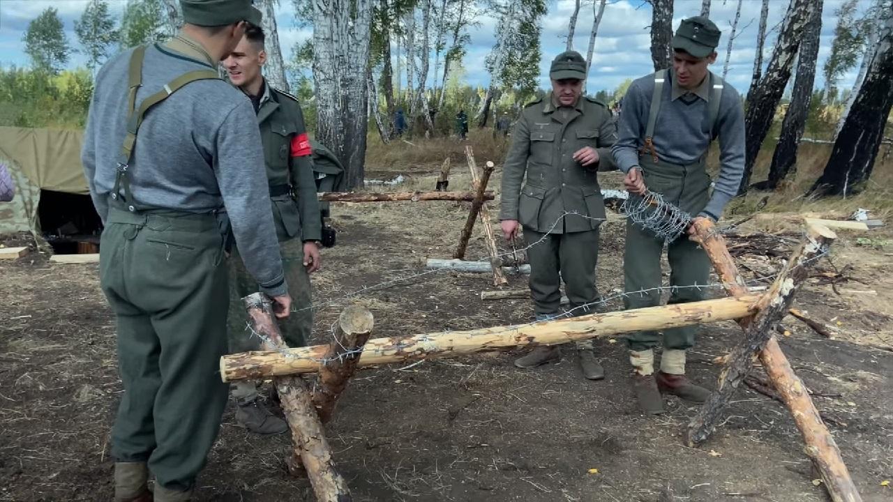 Реконструкция событий Великой Отечественной войны прошла на Южном Урале
