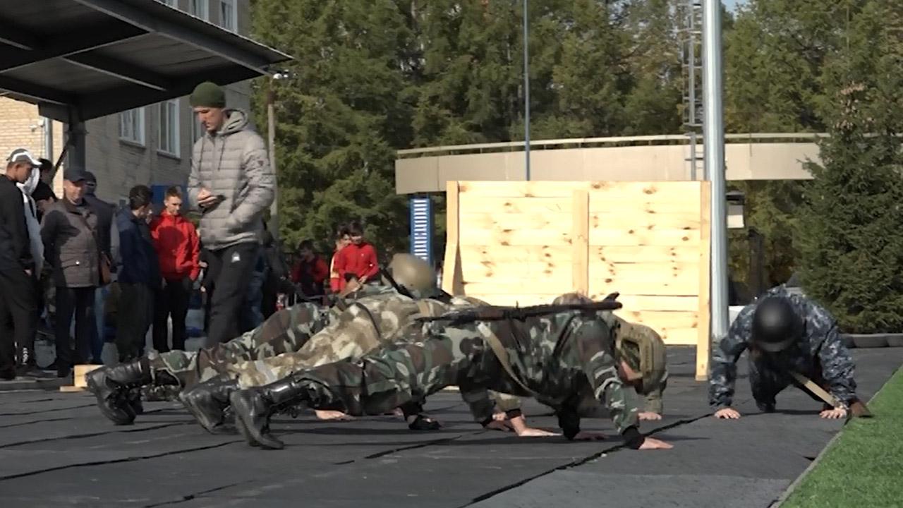 Военизированная эстафета прошла в Челябинске
