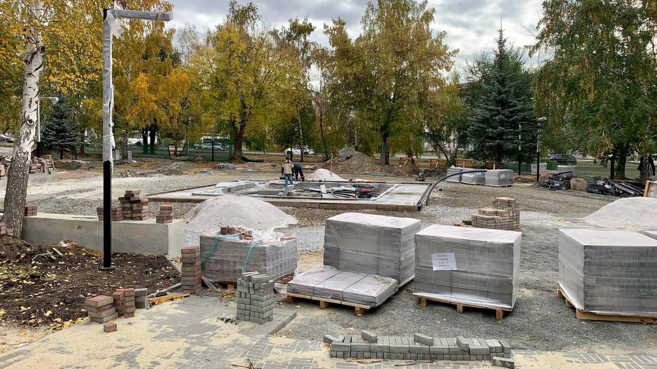Новый сухой фонтан появится в Челябинске