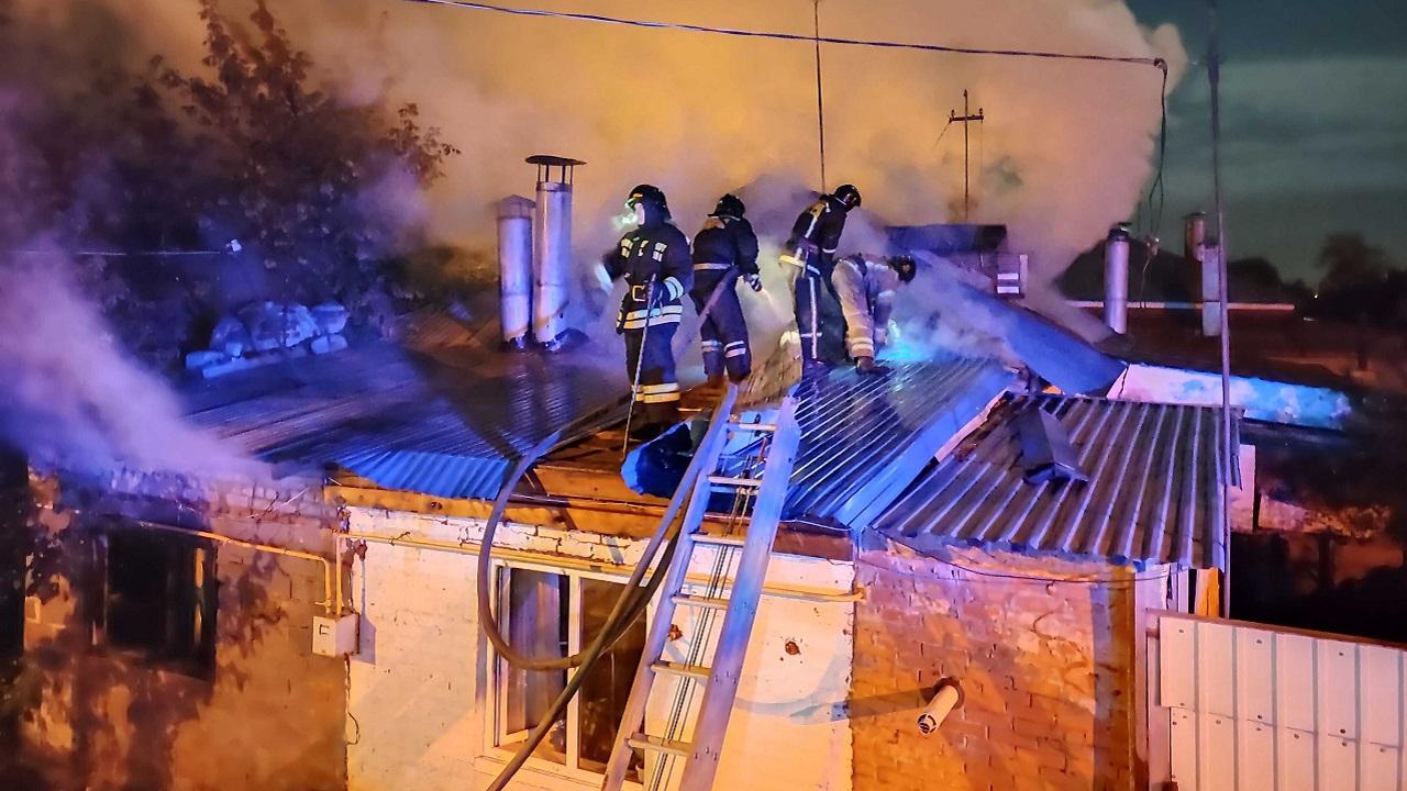 Труп мужчины обнаружили во время тушения пожара в Челябинске
