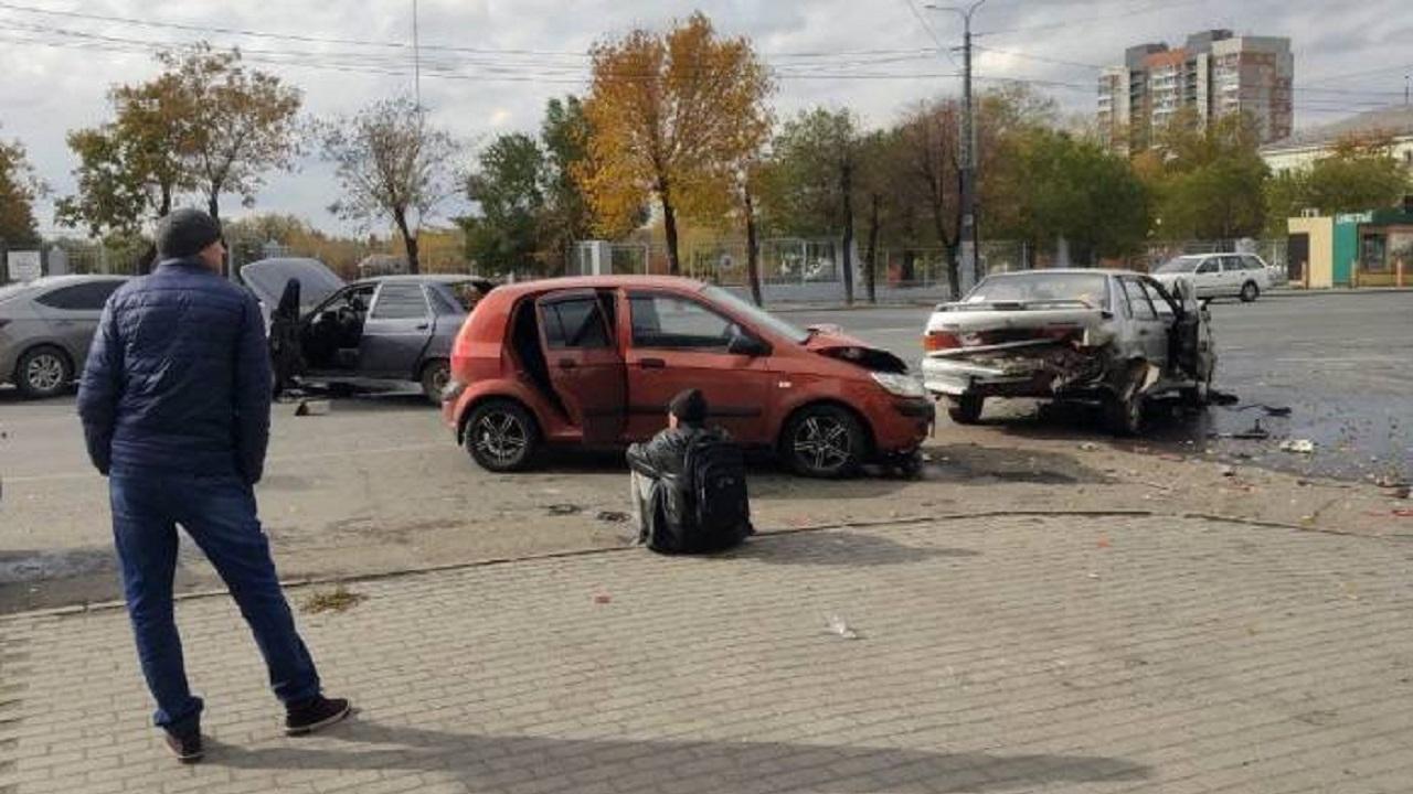 Тройное ДТП произошло на «проклятом перекрестке» в Челябинске