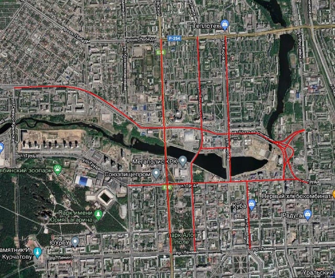 День города в Челябинске 2021: когда и где перекроют улицы