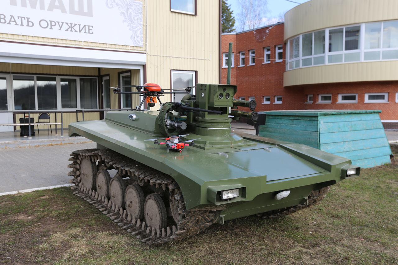 В Челябинской области испытали робота-патрульного