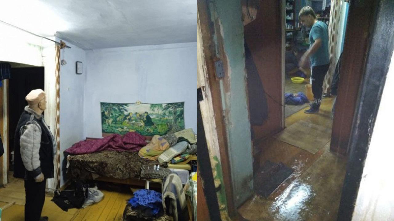 Неудачно включили отопление: в Челябинской области затопило жилой дом