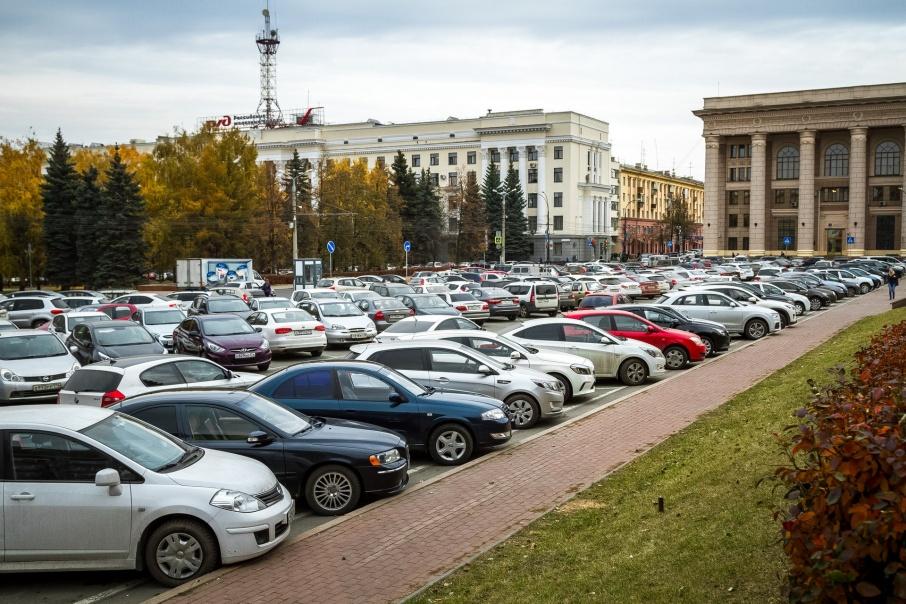 Новые парковки на 1000 мест возведут в центре Челябинска