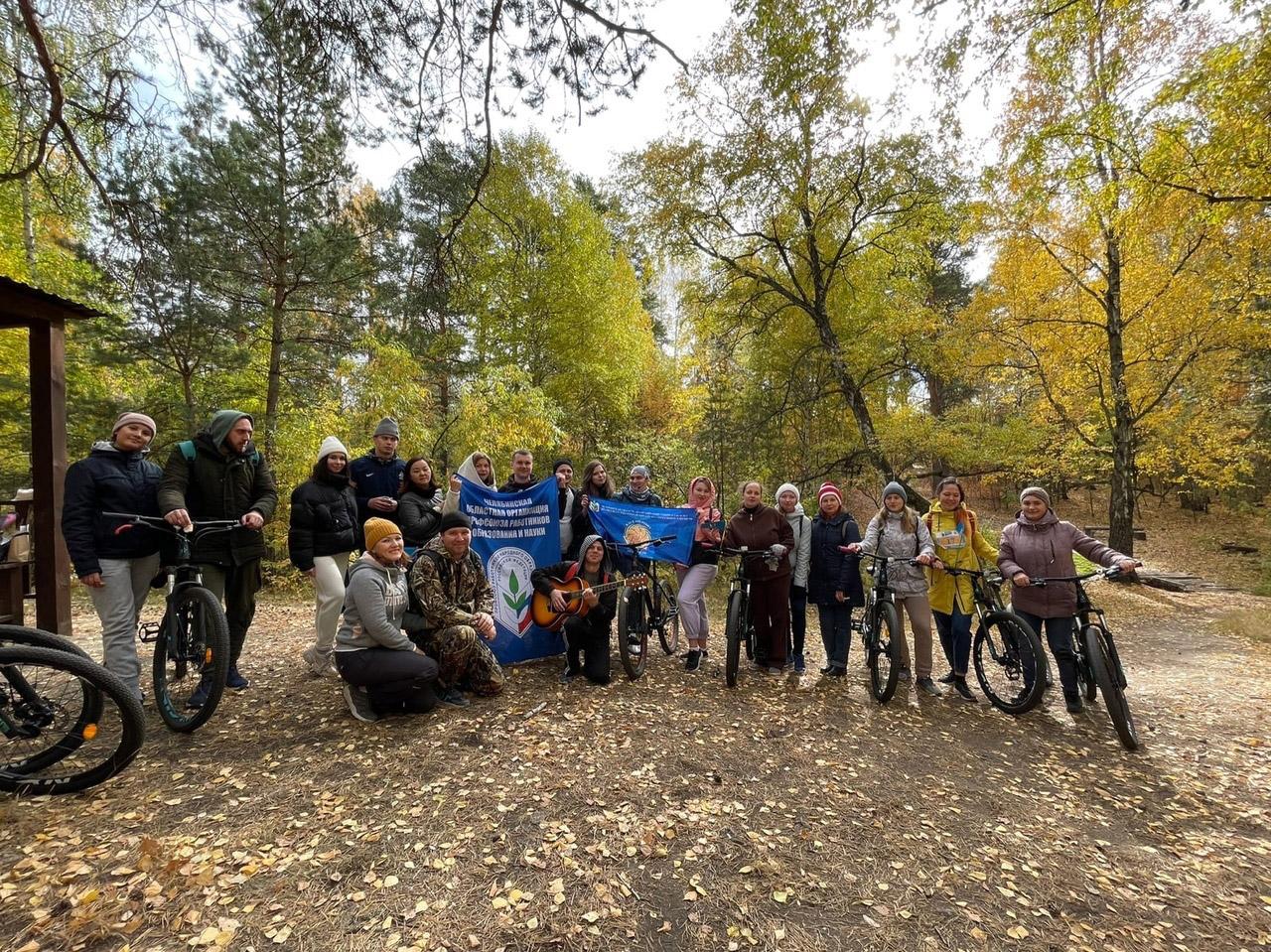 Молодые педагоги устроили велопробег в Челябинске