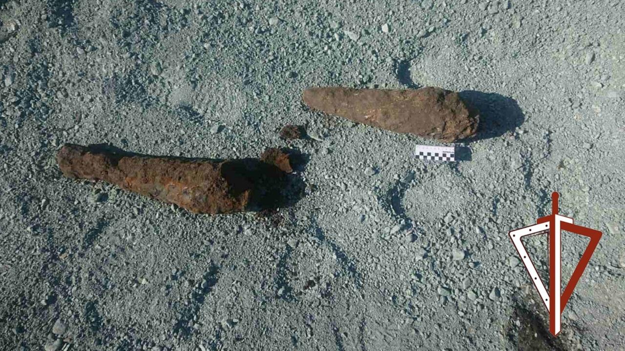 Две артиллерийские мины нашли на улице в Челябинской области