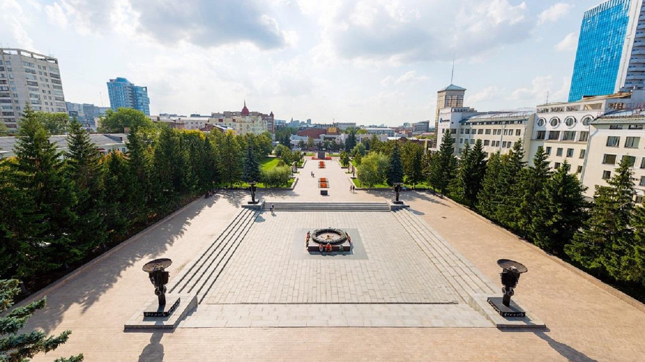 """Стелу """"Город трудовой доблести"""" начали возводить в Челябинске"""