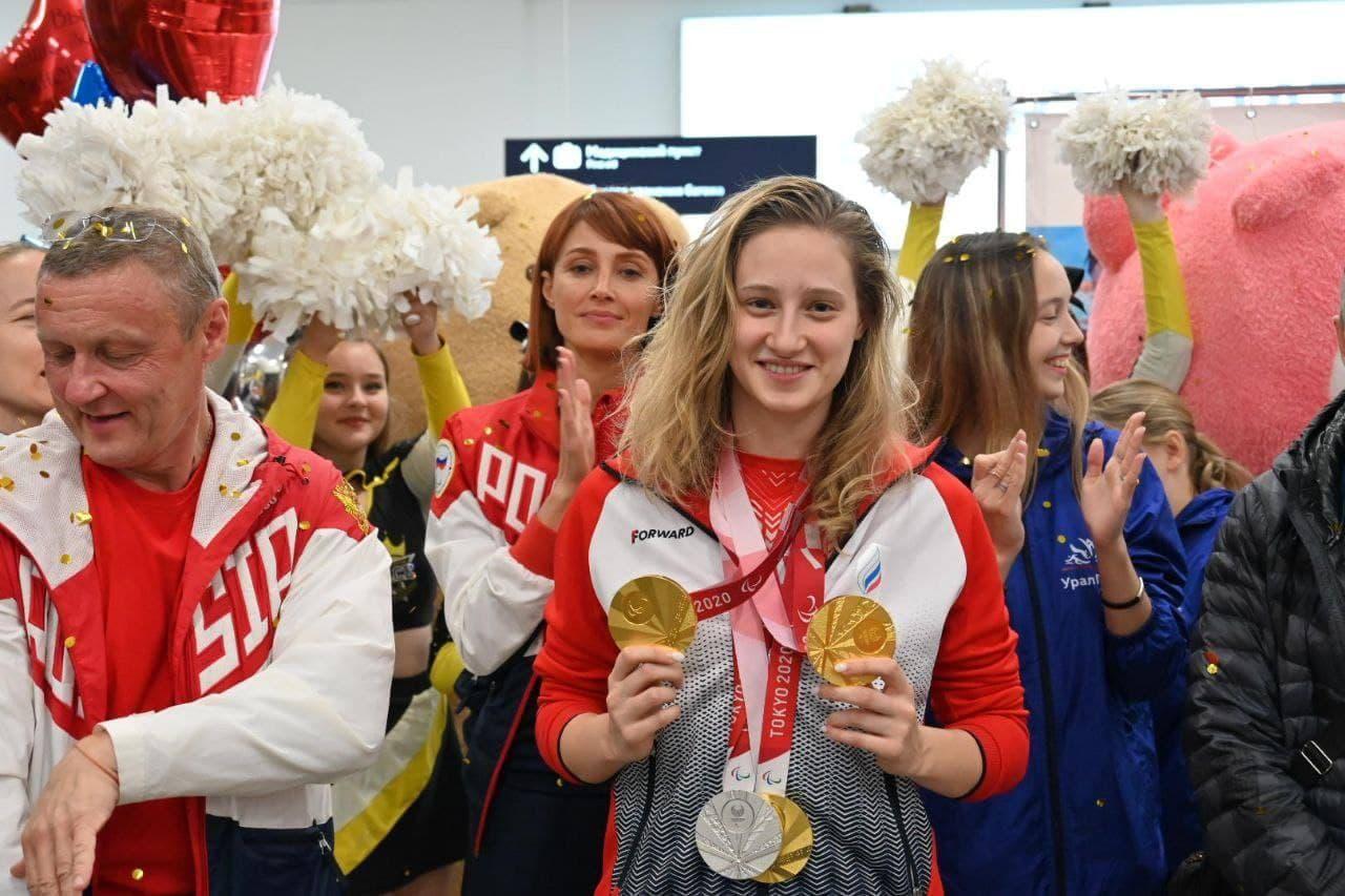 Как Челябинск встретил героев Паралимпиады в Токио