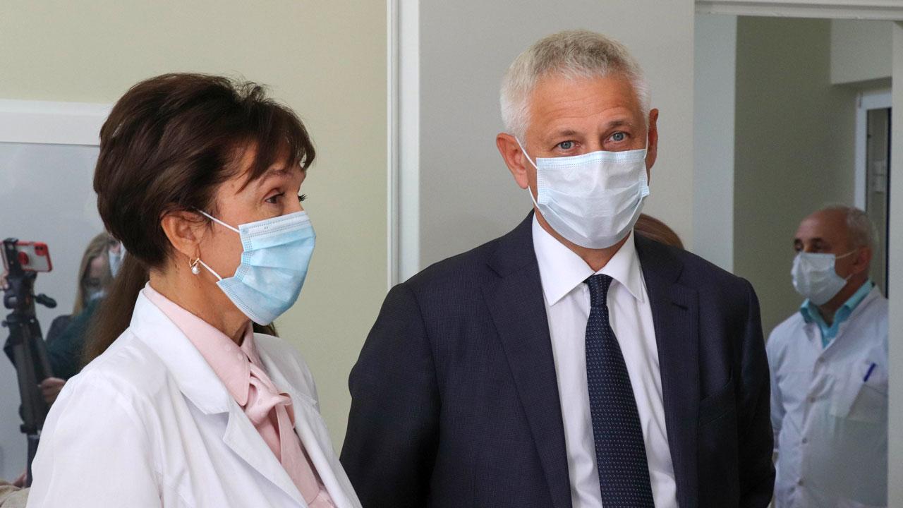 В детской больнице Магнитогорска установили новые аппараты КТ и МРТ