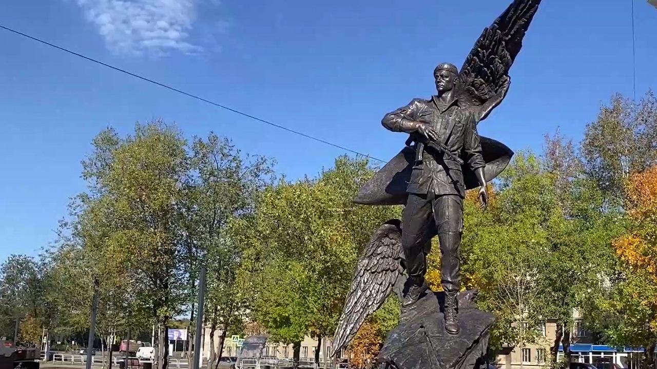 В Челябинской области открылся новый патриотический сквер