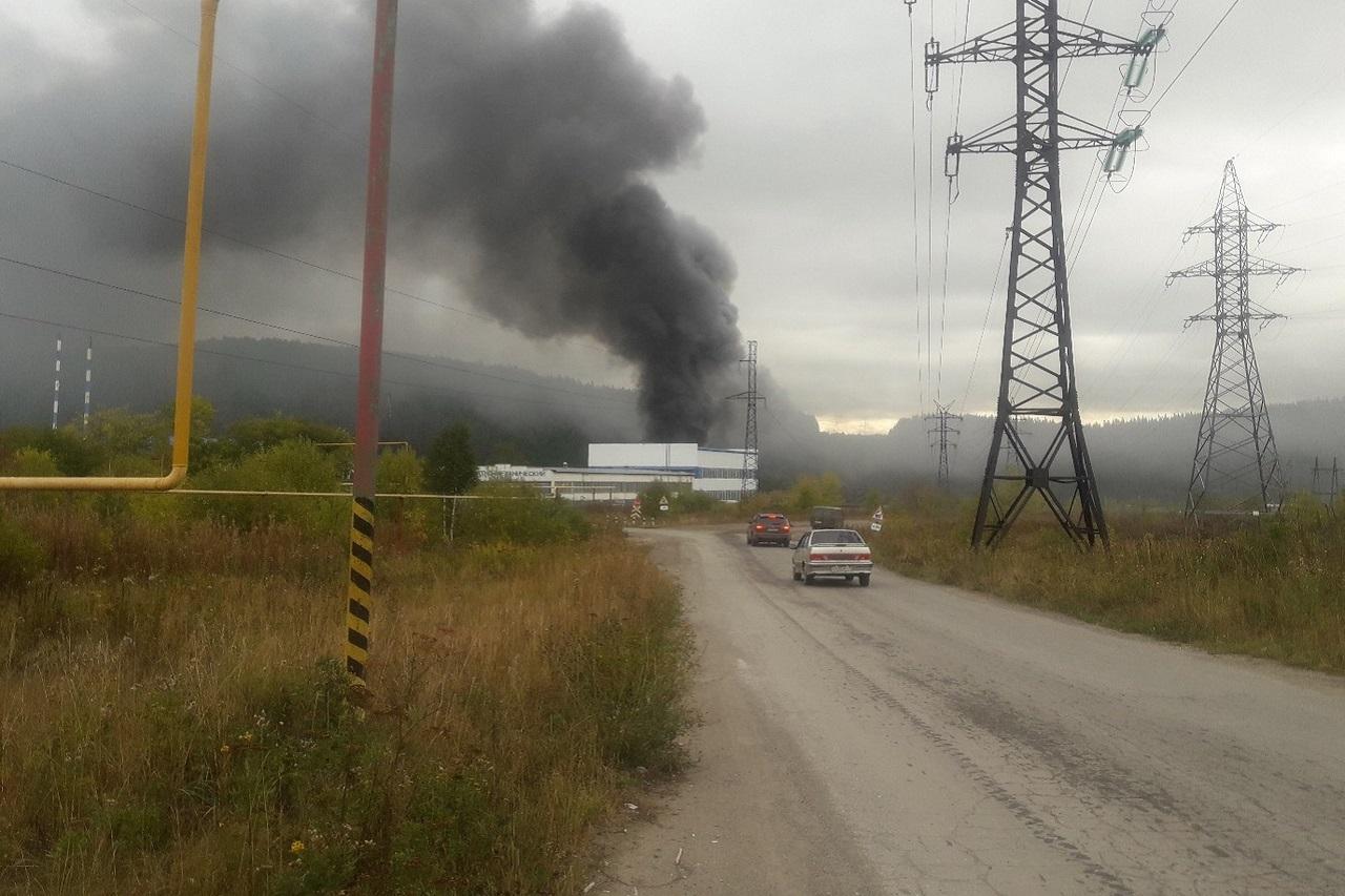 Пожар возле железнодорожного вокзала произошел в Челябинской области