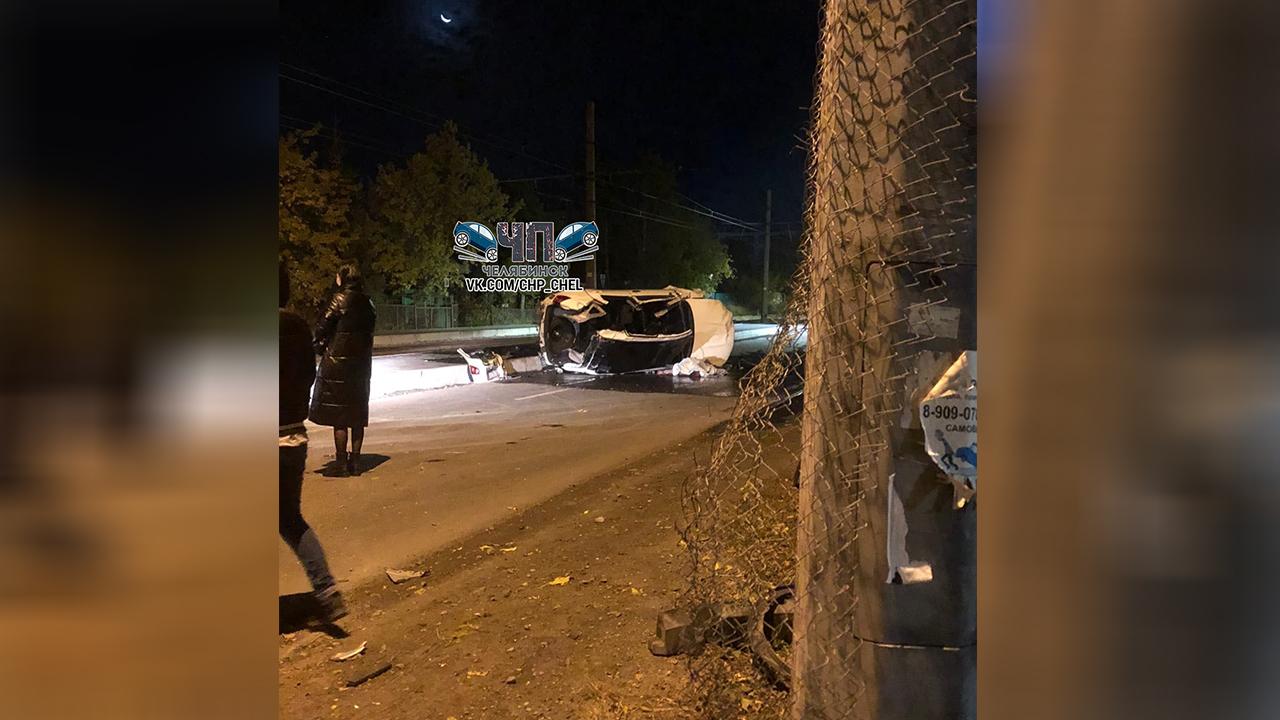 В Челябинске на оживленном перекрестке произошло смертельное ДТП
