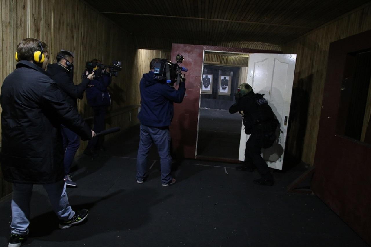 Всегда на страже: как бойцы СОБРа Росгвардии в Челябинске отметили первый юбилей
