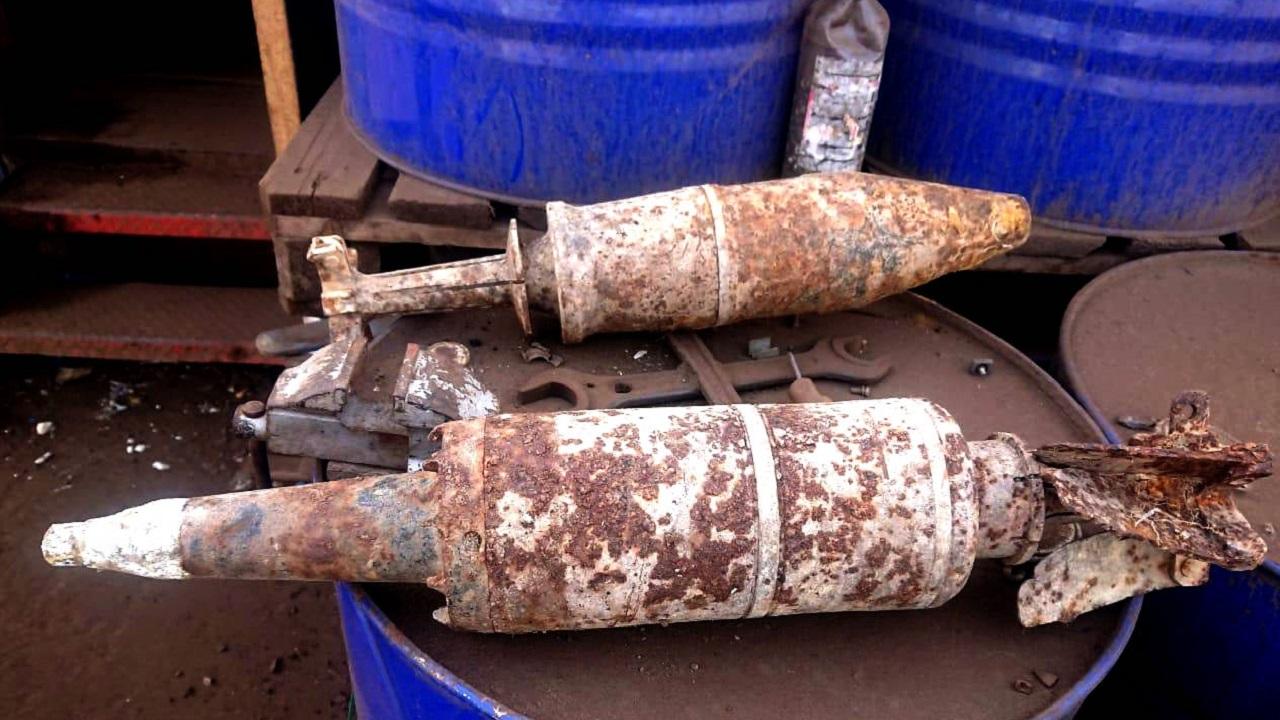 Артиллерийские снаряды обнаружили в Челябинске