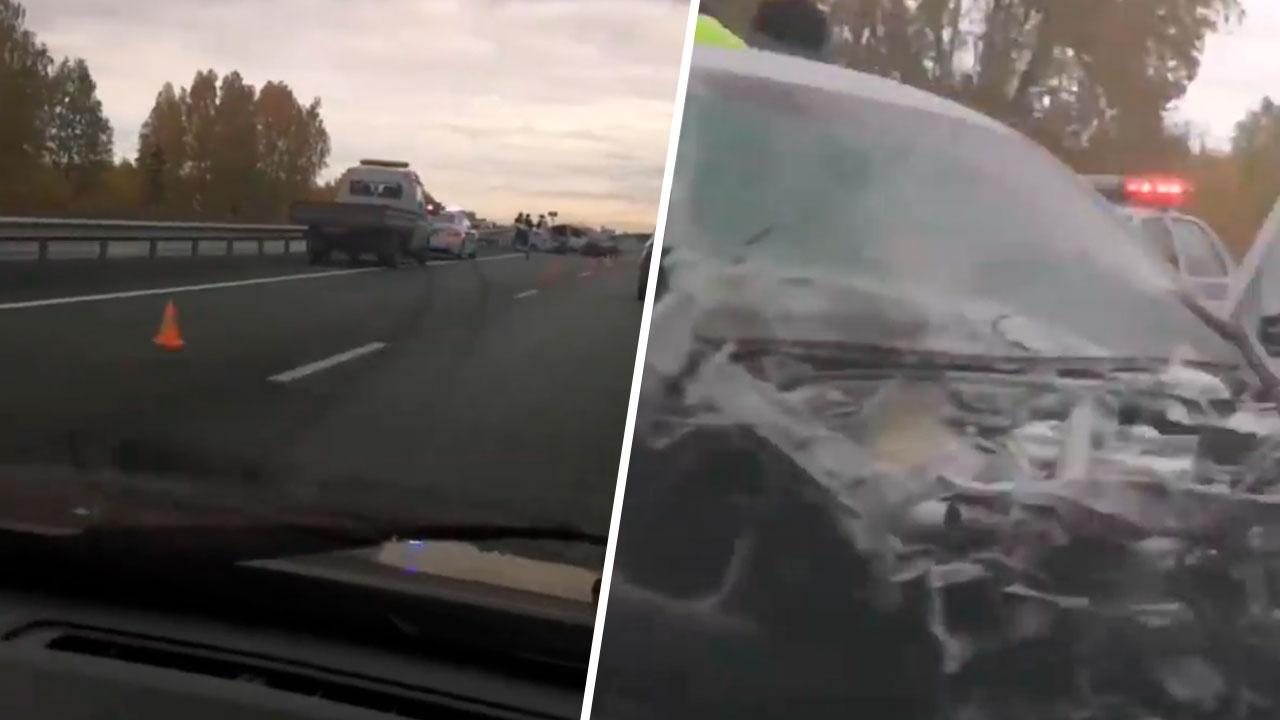 Смертельное ДТП произошло на трассе М5 под Челябинском