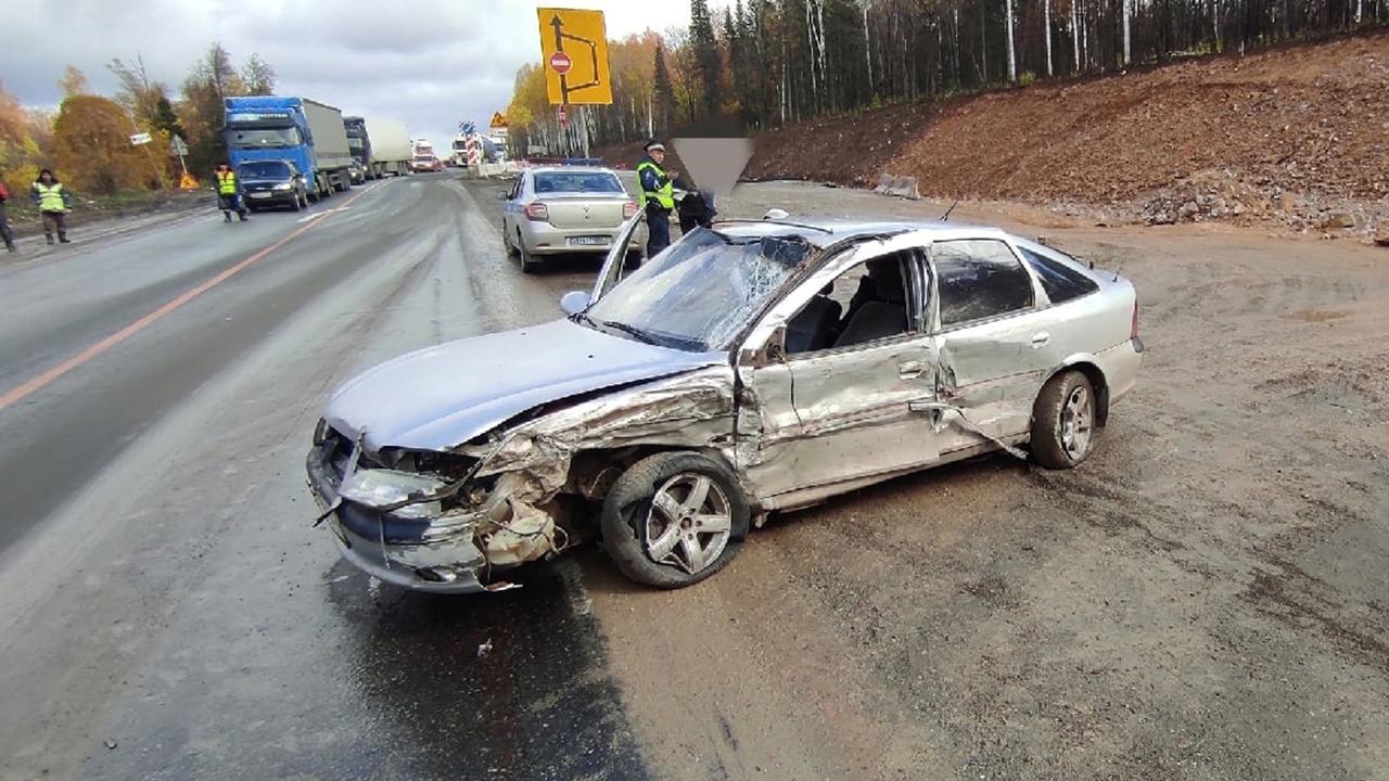 В Челябинской области пьяный водитель спровоцировал лобовую аварию, есть пострадавшие