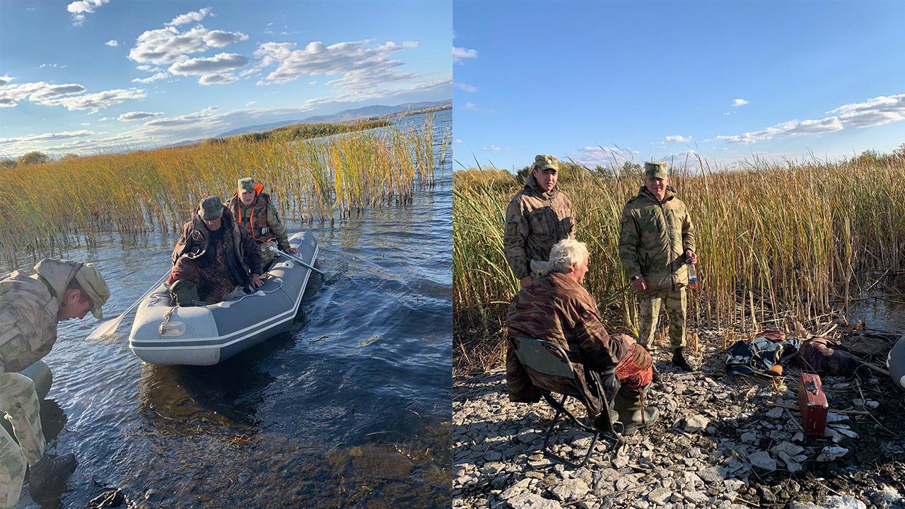 Пожилой охотник с тяжелой болезнью застрял на острове в Челябинской области