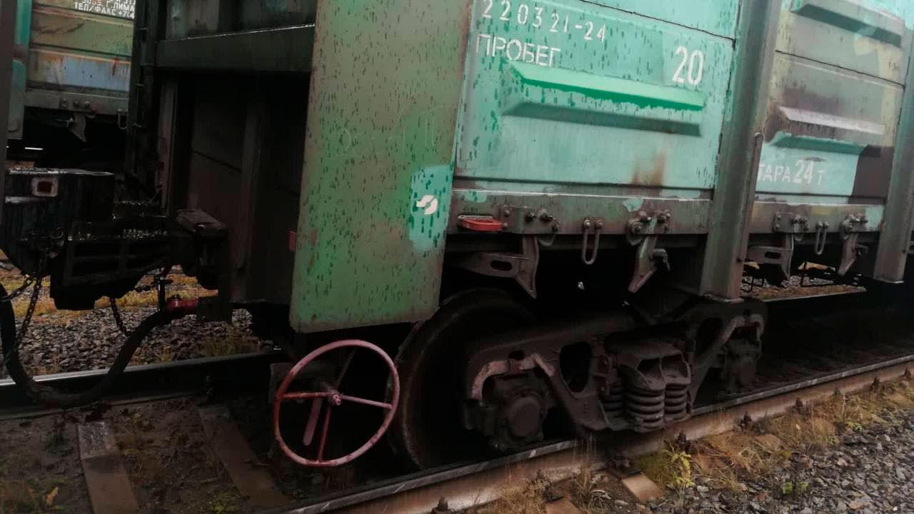 Вагоны с углем сошли с рельсов в Челябинской области