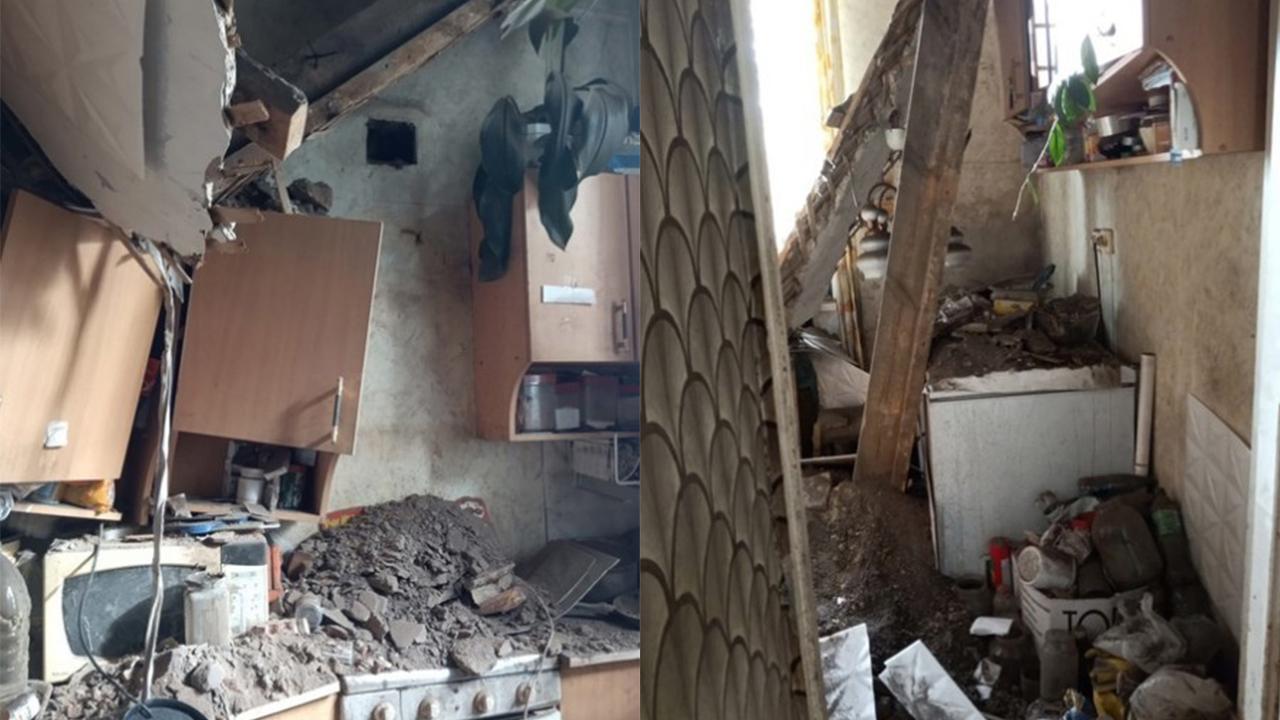 Потолок рухнул в одной из квартир в Челябинской области
